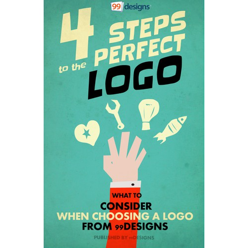 4 Steps to a Perfect Logo Design ebook Cover Design