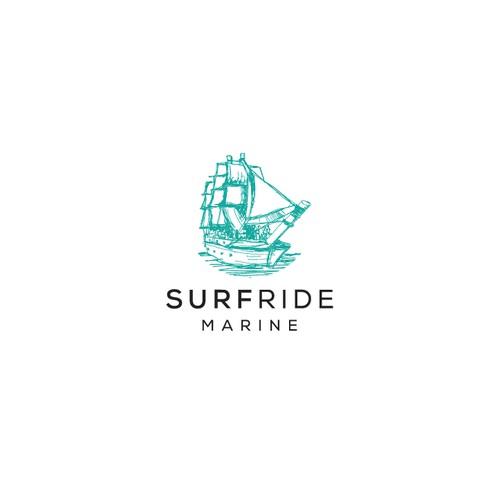 surfride marine logo