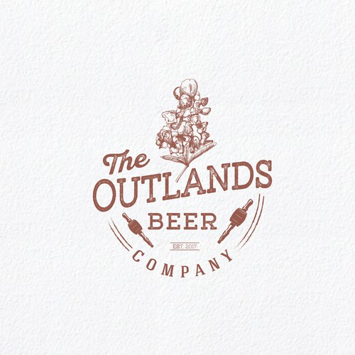 Rustic logo needed for destination brewery in rural hill country Texas