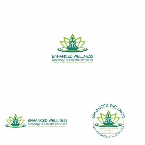 Logo for Enhanced Wellness Massage & Holistic Services