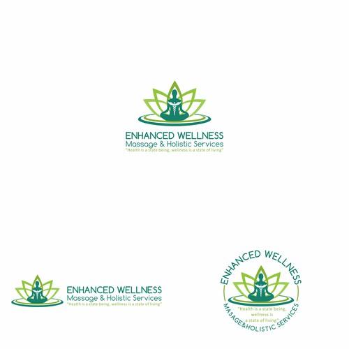 Logo for Enhanced Wellness Massage & Holistic Services