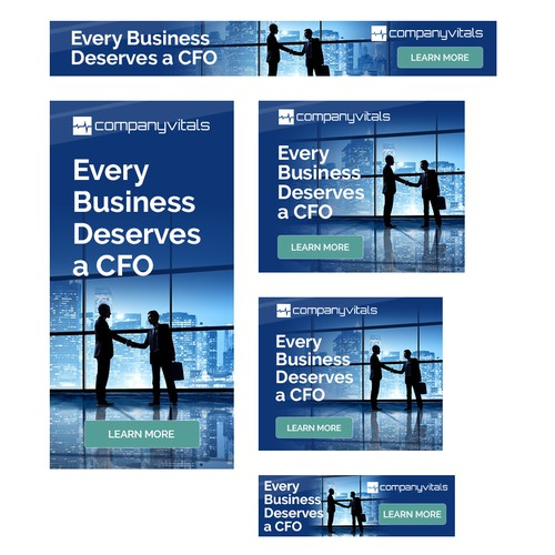 Ad Banners for Company Vitals