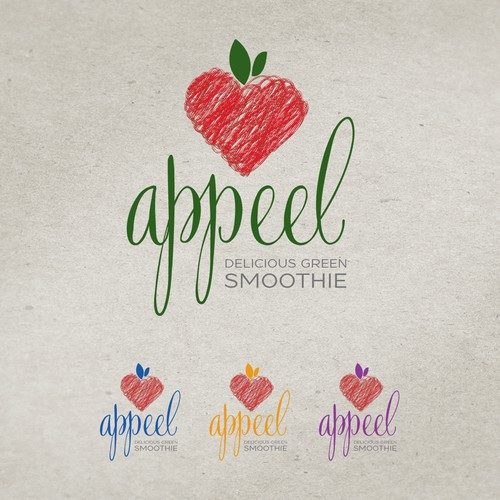 Brand ID Pack - Organic Appeel - Delicious Green Smoothie