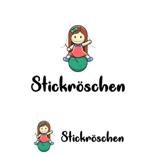 logo for homemade doll