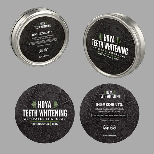 TOOTH WHITENING STICKER