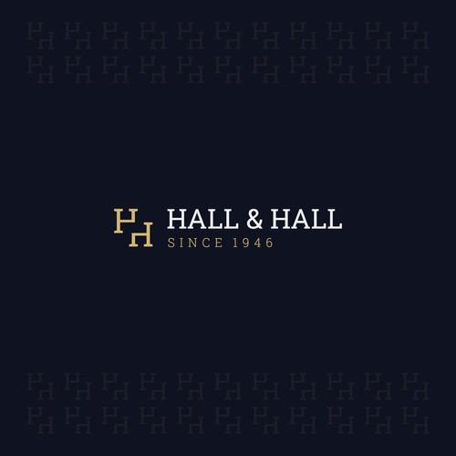 Logo for Hall & Hall