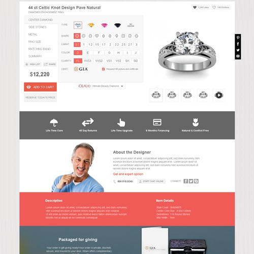 Diamond Mansion  new landing page
