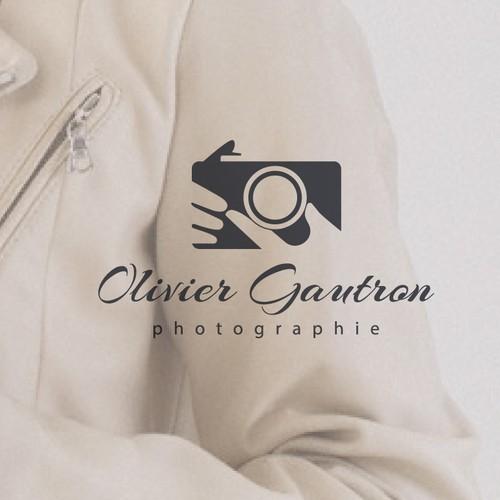 créer un logo sympa pour Olivier Gautron Photographies