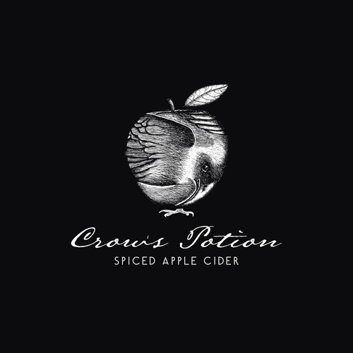 Playful Logo Concept for Apple Cider