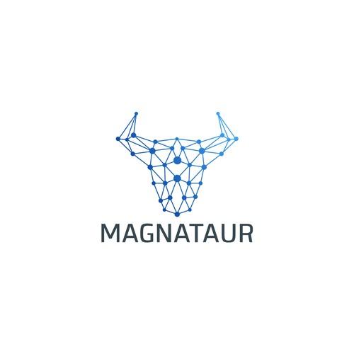 magnataur Logo design