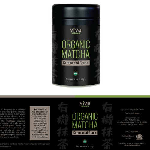 Label Design for Viva Naturals