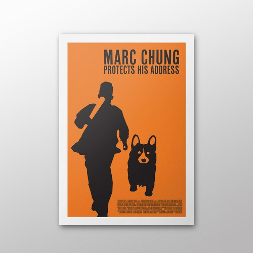 Marc Chung protects his address