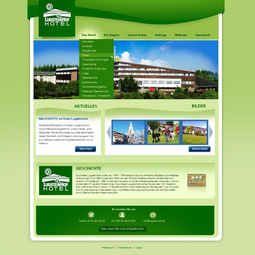 Redesign Hotel Website