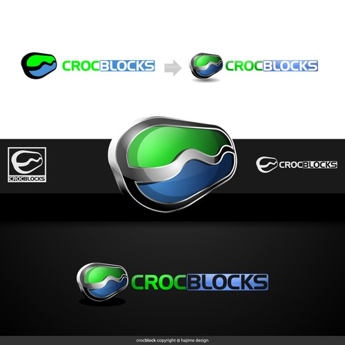 Create the next logo for CrocBlocks