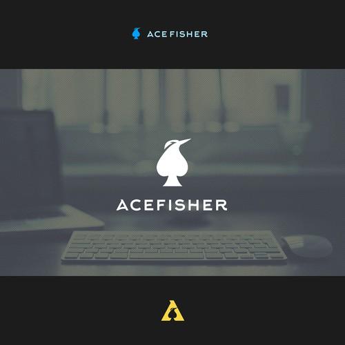 Logo design for AceFisher