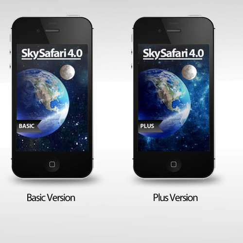 SkySafari 4 App Icon & Start Screen Artwork Wanted!