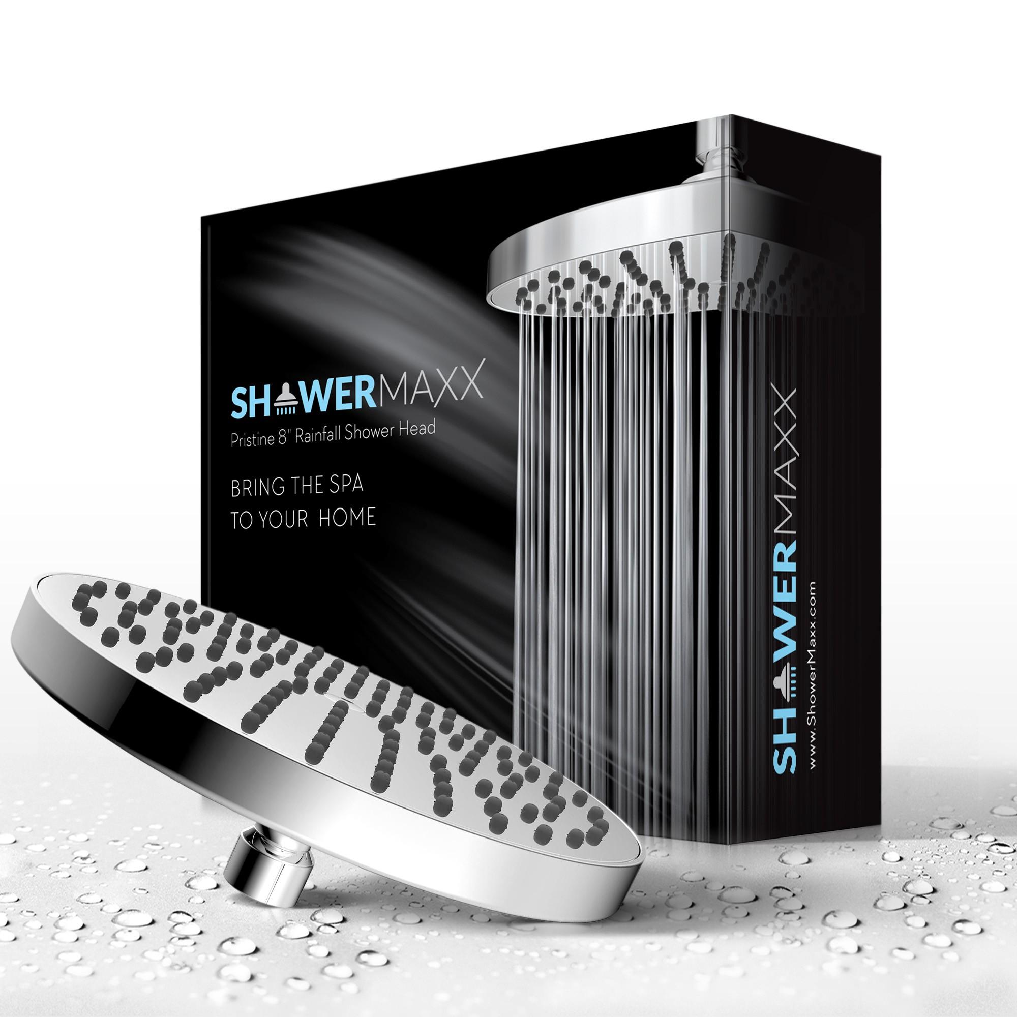 Three New Shower Heads - Packaging