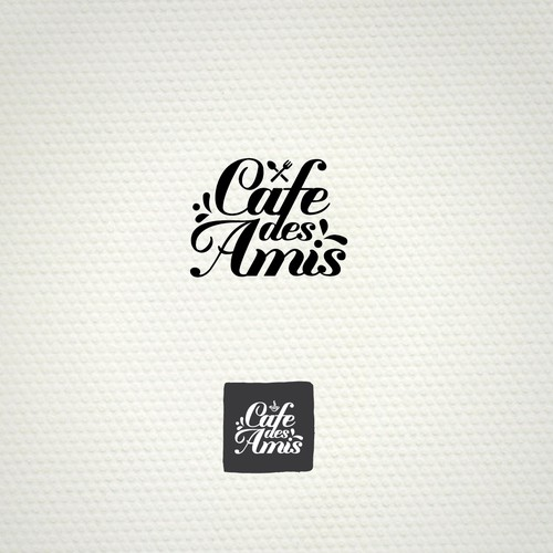 Elegant vintage Logo design for cafe/restaurant in UK