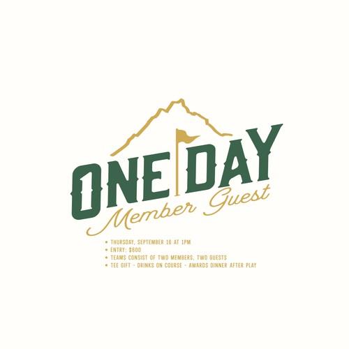 bold event logo design