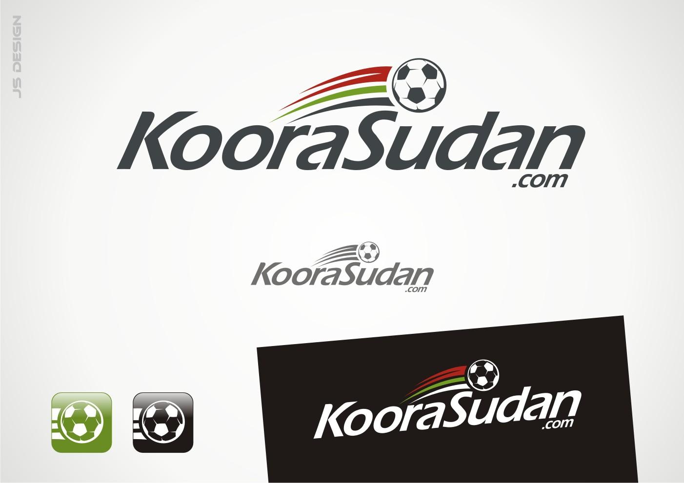 Logo for a soccer website (Koora Sudan)