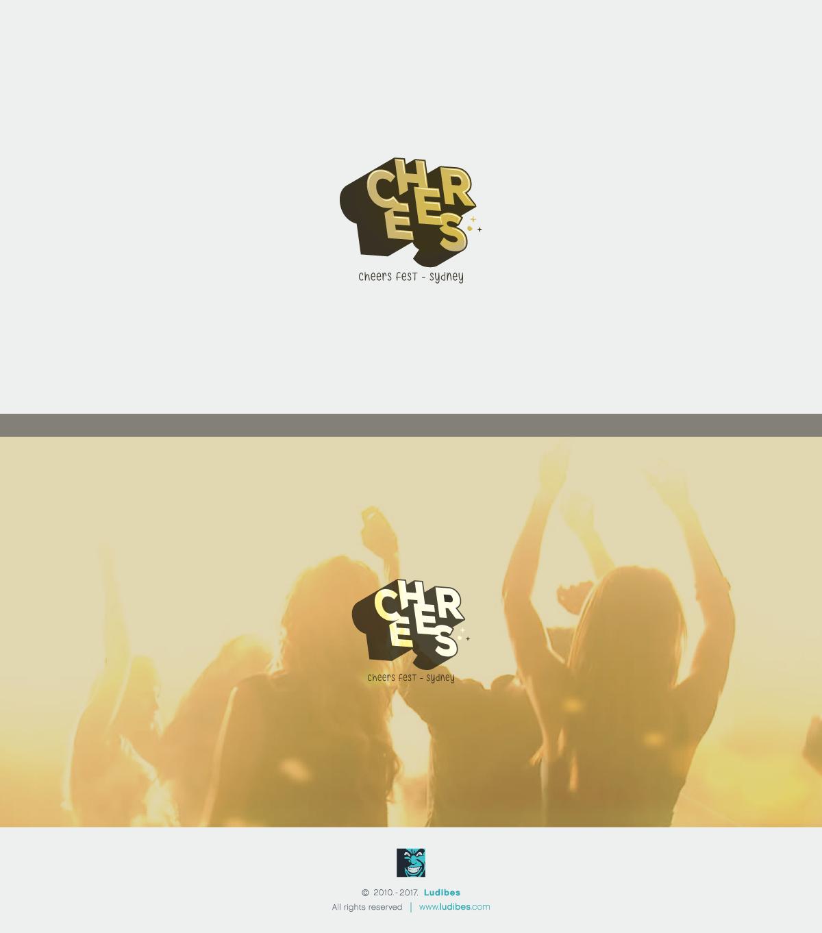Cheers Fest Logo Design