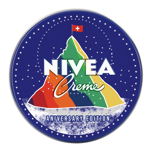 Cap Design For Nivea Creme