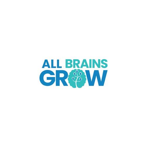 Logo for ALL BRAINS GROW