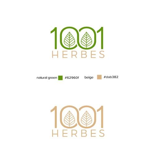1001 herbes logo