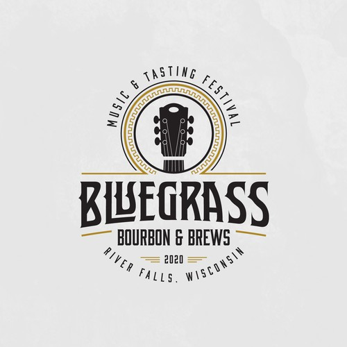 Need exciting new logo design for Bluegrass Bourbon & Blues Festival