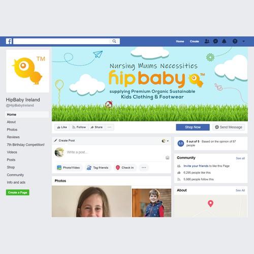Facebook Banner HipBaby