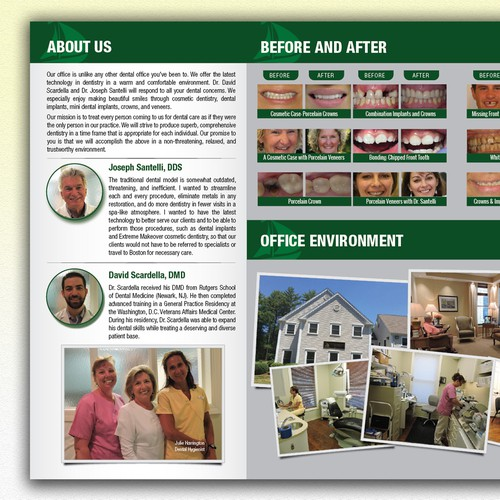 Brochure for Dental Practice