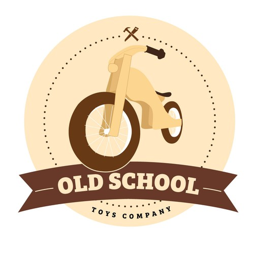 Logo concept for Old School Toys Co.