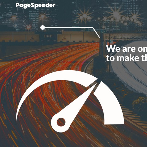 Landing page for pagespeeder