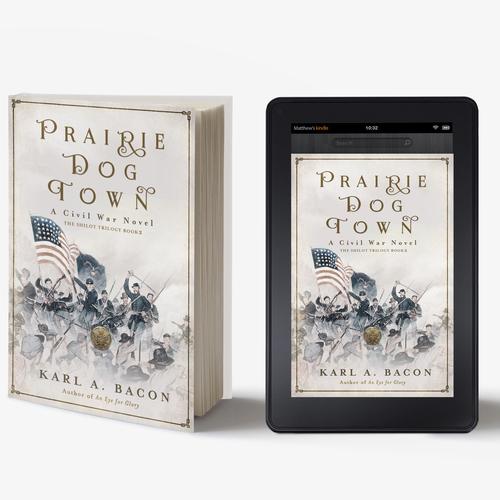 Book cover design: Civil War