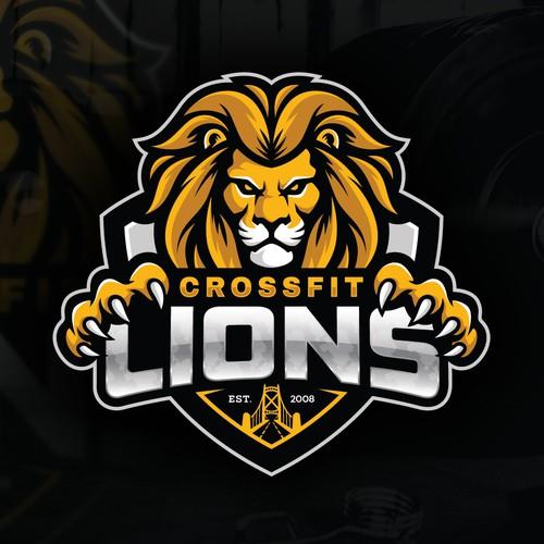 CrossFit Lions gym Logo