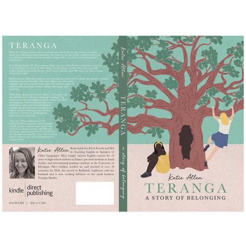 Cover Illustration for Travel/Memoir Book