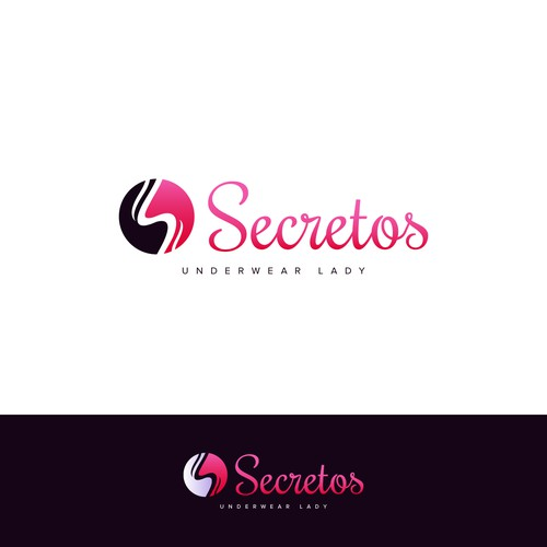Logo for lady's clothing