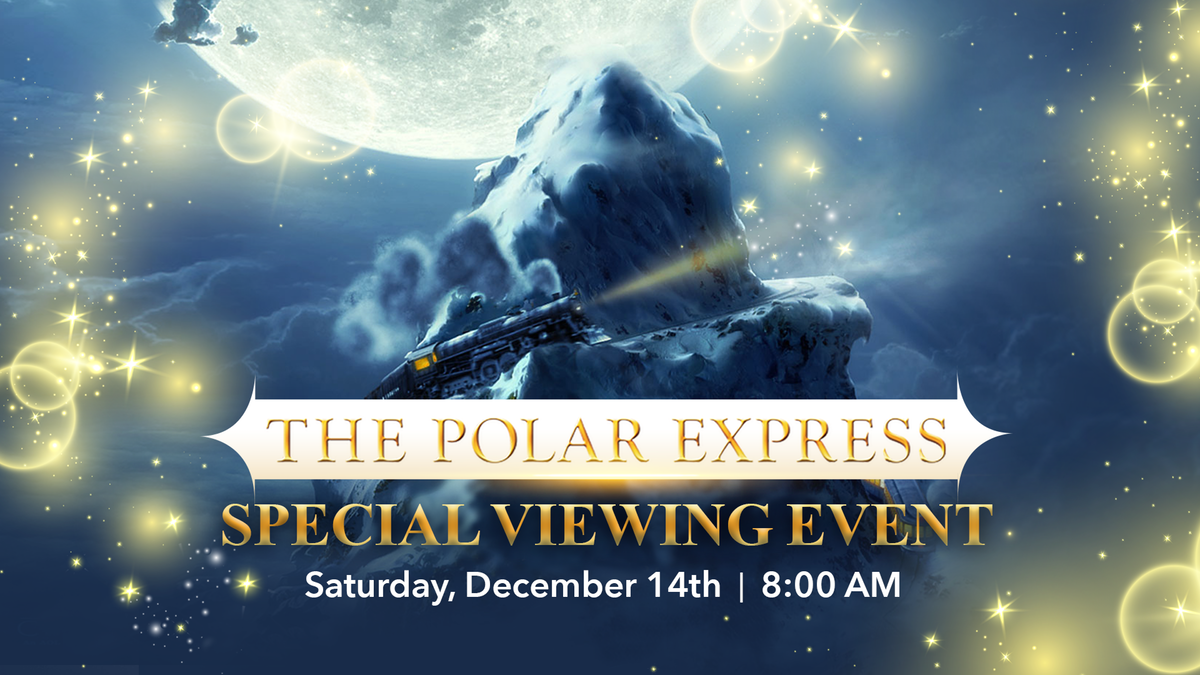 FatCats Polar Express Movie Event