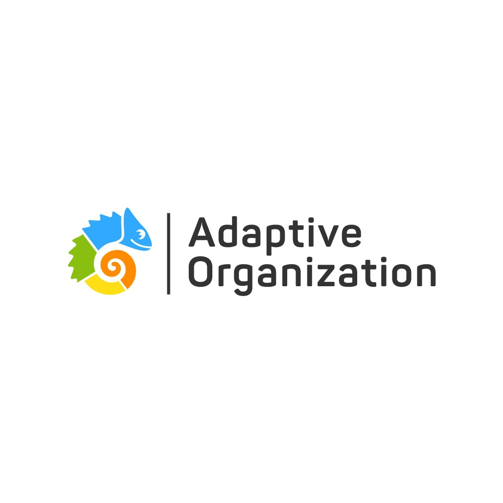 Design a logo for organizations that know how to adapt