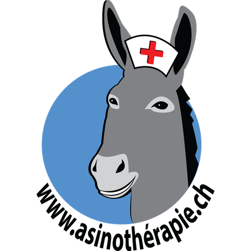 Logo for Health Center That Uses Donkeys