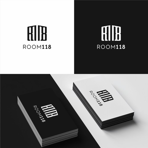 Room118 Logo Design