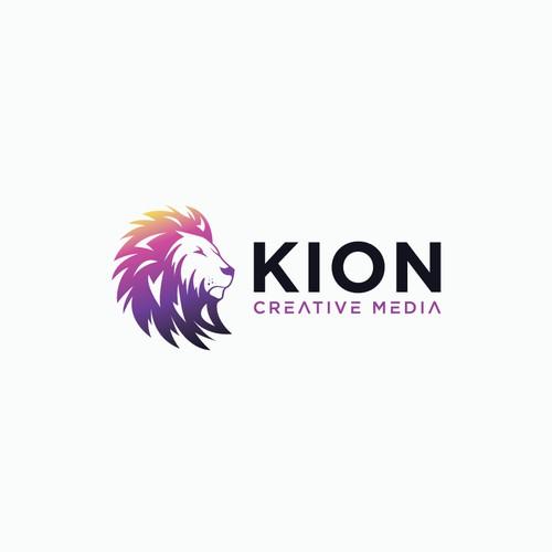 Kion Creative Media logo concept