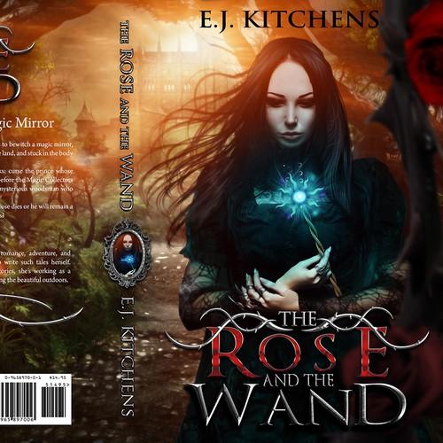 fantasy tale magic book cover