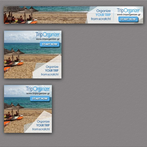 Create cool and stand out banners for promoting traveling and activity events!