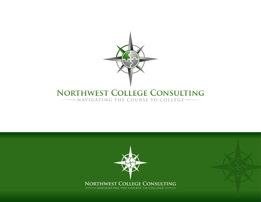 Create the next logo for Northwest College Consulting
