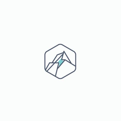 Energy mining logo