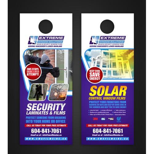 security door hanger