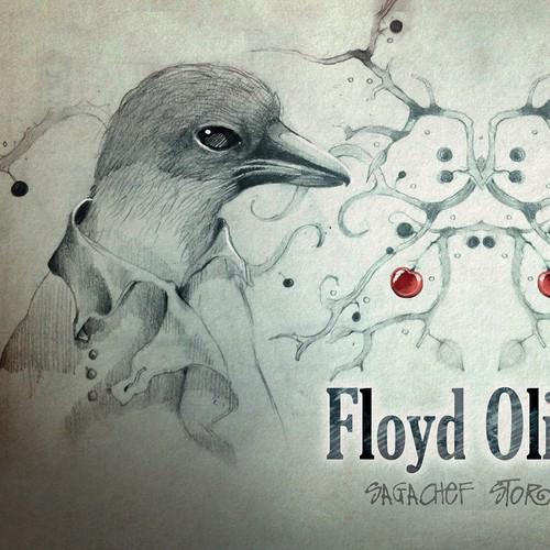 Book design illustration