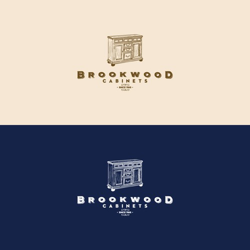 Rustic Logo for Cabinet Makers