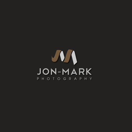 Create a visual mark for a young male commercial photographer